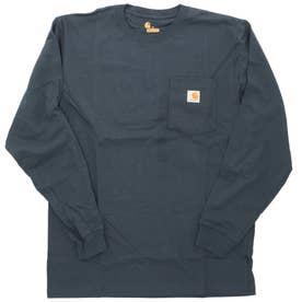 carhartt Workwear Pocket Long Sleeve Tshirt (NVY.Navy)