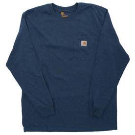 carhartt Workwear Pocket Long Sleeve Tshirt (413.DCBlHeather)
