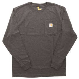 carhartt Workwear Pocket Long Sleeve Tshirt (CRH.CbHeather)