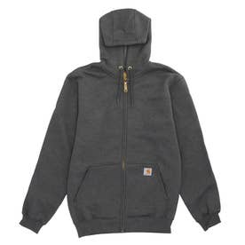 K122 Midweight Hooded Zip Front (026.CBHeather)