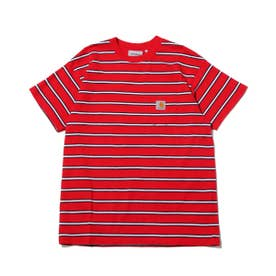 CARHARTT S/S HOUSTON POCKET T-SHIRT (RED)