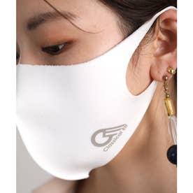 【通気性◎、防細菌、抗菌、UVカット99%】3D立体ファッションマスク 【返品不可商品】 (ホワイト(プリント有))