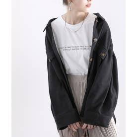 CPOビッグシャツジャケット (ブラック)