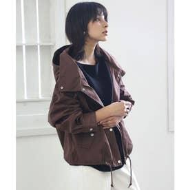 マウンテンジャケット モッズ風ハーフコート シンプル 大人カラー ベージュ、カーキ、ブラック すっきり丈感 ツイル生地でハリ感 秋の新商品 気軽に羽織れる
