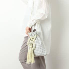ジャガード巾着 (IVORY)