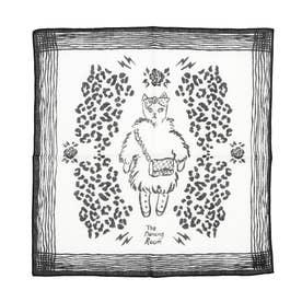 CAT SCARF (IVORY)