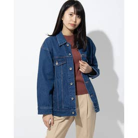 Big Denim Jacket/ (DARK BLUE)