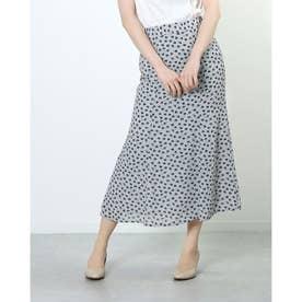 6ハギマーメイドスカート (WHITE/BLACK)