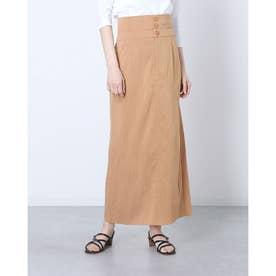 ハイウエストロングタイトスカート (CAMEL)