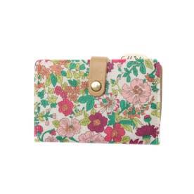 リバティプリント カードケース エミリーPK (ピンク)