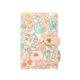 リバティプリント カードケース ベッツィPK (ピンク)