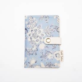 リラクシーフラワー カードケース ブルー BL (ブルー)