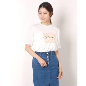 elationプリントTシャツ (OFF WHITE)