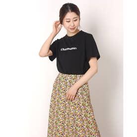 charmanteプリントTシャツ (BLACK)