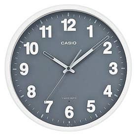 電波時計 壁掛け時計 / IQ-1012J-8JF (グレー×ホワイト)