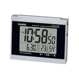 電波時計 置時計 / DQD-710J-8JF (シルバー×ブラック)