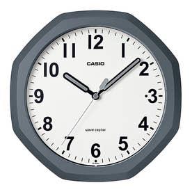 電波時計 壁掛け時計 置時計兼用 / IQ-888NJ-8JF (ダークグレー)