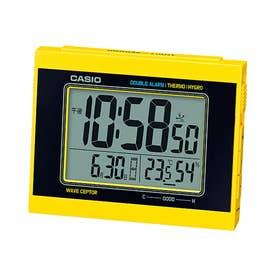 電波時計 置時計 / DQD-5000J-1JF (イエロー×ブラック)