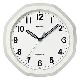 電波時計 壁掛け時計 置時計兼用 / IQ-888NJ-7JF (クリーム)