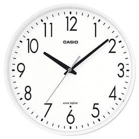 電波時計 壁掛け時計 / IQ-1070J-7JF (ホワイト)