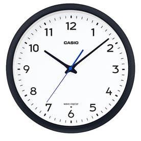 電波時計 壁掛け時計 / IQ-1013J-1JF (ブラック×ホワイト)
