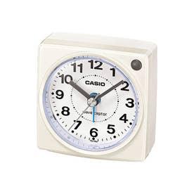 電波受信機能付きの目覚まし時計 / TQ-750J-7JF (ホワイト)
