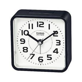 電波受信機能付きの目覚まし時計 / TQ-770J-1JF (ブラック×ホワイト)