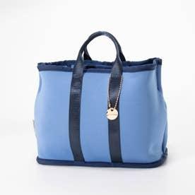 ネオプレン仕切りバッグインバッグ (ブルー)