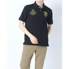 メンズ 半袖ポロシャツ S/S FLEXCOOL CONTROL POLO RA31127 (ブラック)