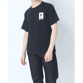 メンズ 半袖Tシャツ TSHIRT RA31212 (ブラック)
