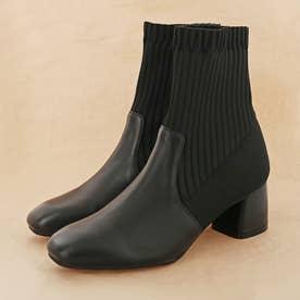 ソックスブーツ (ブラック)