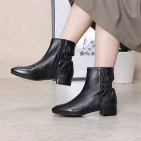 ミッドカーフブーツ (ブラック)