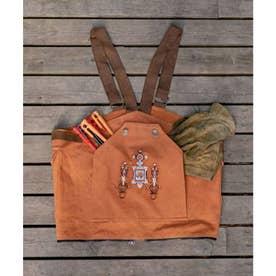 【チャイハネ】トゥアレグ刺繍バッグ/ベスト 2WAY キャメル