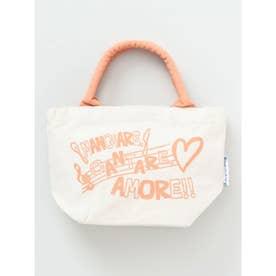 【欧州航路】メッセージロゴミニトートバッグ オレンジ