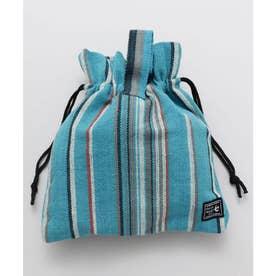 【チャイハネ】ティパール巾着バッグ ブルー