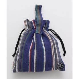 【チャイハネ】ティパール巾着バッグ パープル