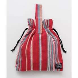 【チャイハネ】ティパール巾着バッグ レッド