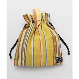 【チャイハネ】ティパール巾着バッグ イエロー