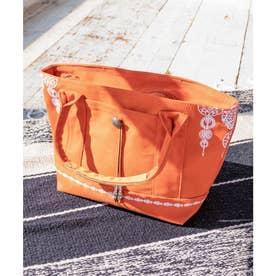 【チャイハネ】セレーネ刺繍バッグ オレンジ