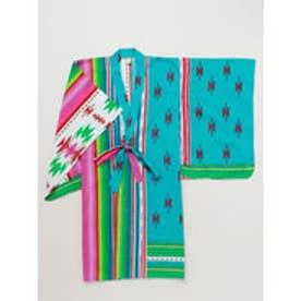 【チャイハネ】メキシカンキッズ浴衣110cm グリーン