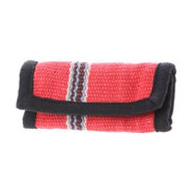 【チャイハネ】ボーダー織りキーケース レッド