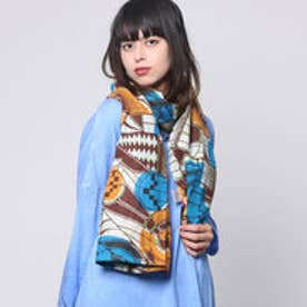 【チャイハネ】AFRICAN FREE CLOTH ブルー