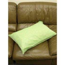 【チャイハネ】インド綿シンプル枕カバー/ピロケース オリーブ