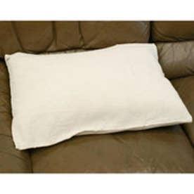 【チャイハネ】インド綿シンプル枕カバー/ピロケース オフホワイト