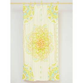 【チャイハネ】魅惑のカーテン178cm オレンジ