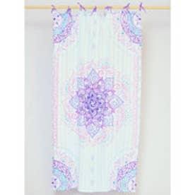 【チャイハネ】魅惑のカーテン178cm パープル