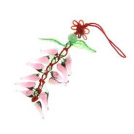 ◆【チャイハネ】魔除け・幸運のお守り チリホルダー 唐辛子ストラップ パープル