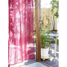【チャイハネ】グラーデーションカーテン178cm パープル