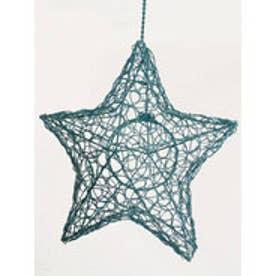 【チャイハネ】STAR HANGING LAMP ターコイズブルー