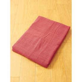 【チャイハネ】シンプルシーツ A/Wカラー シングルサイズ ブラウン